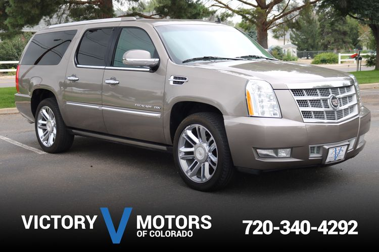 2012 Cadillac Escalade Esv Platinum Edition Victory Motors Of