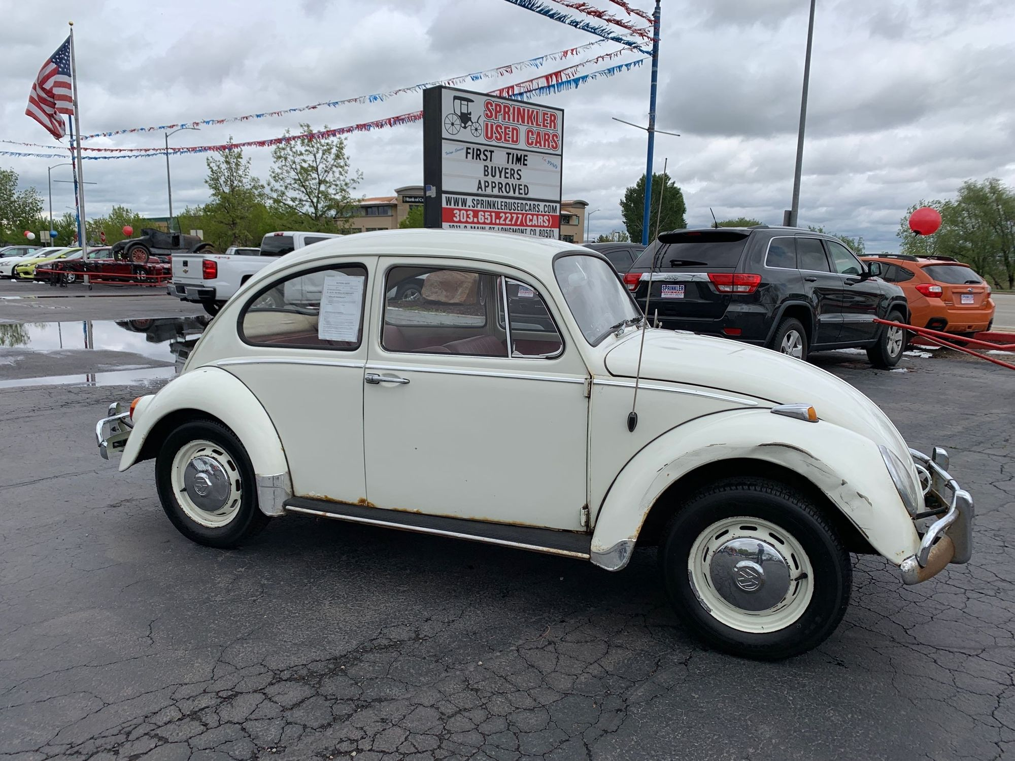 Sprinklers Auto Longmont >> 1966 Volkswagen Beetle Sprinkler Used Cars