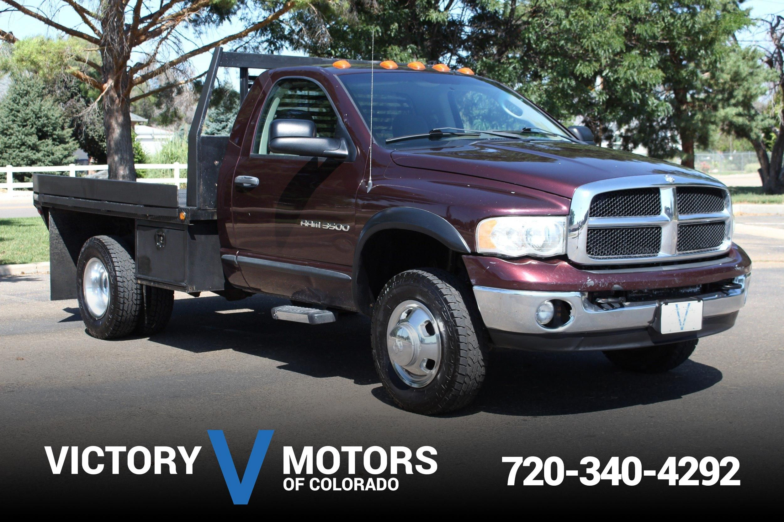 2004 Dodge Ram 3500 Slt Victory Motors Of Colorado