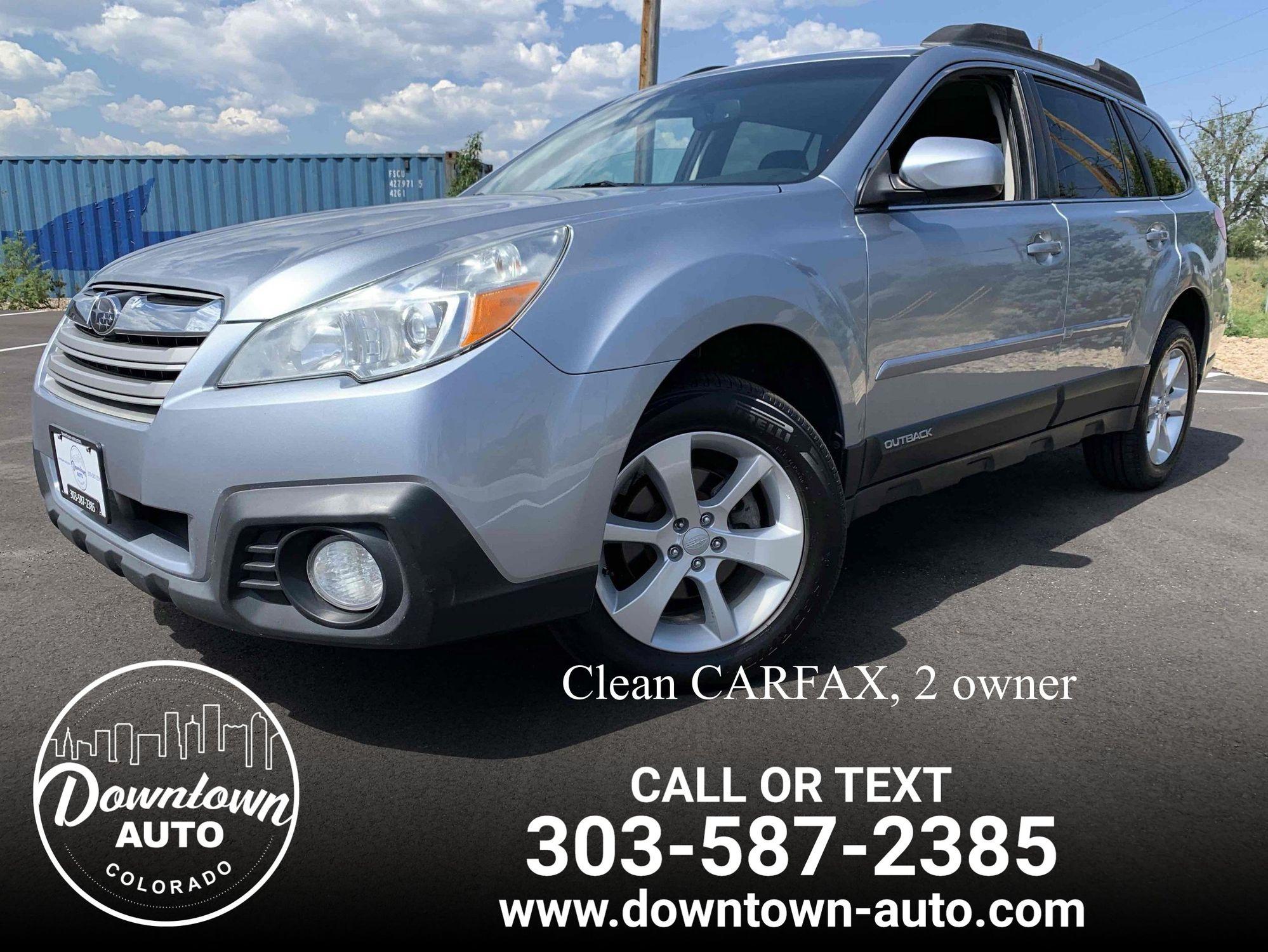 2013 Subaru Outback 2 5i Premium | Downtown Auto