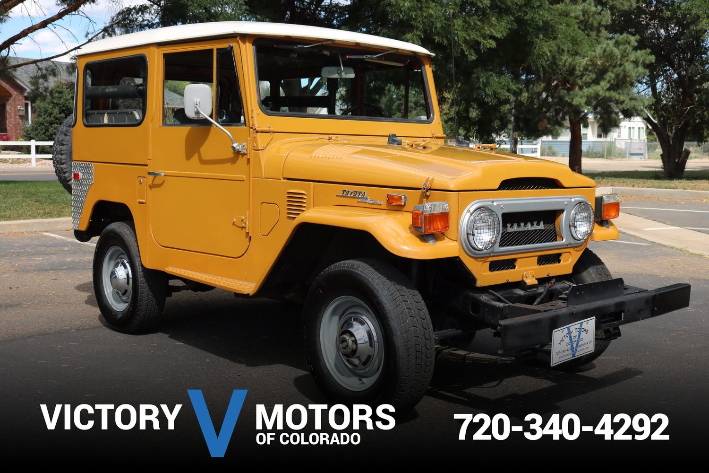 1973 Toyota Land Cruiser Victory Motors Of Colorado
