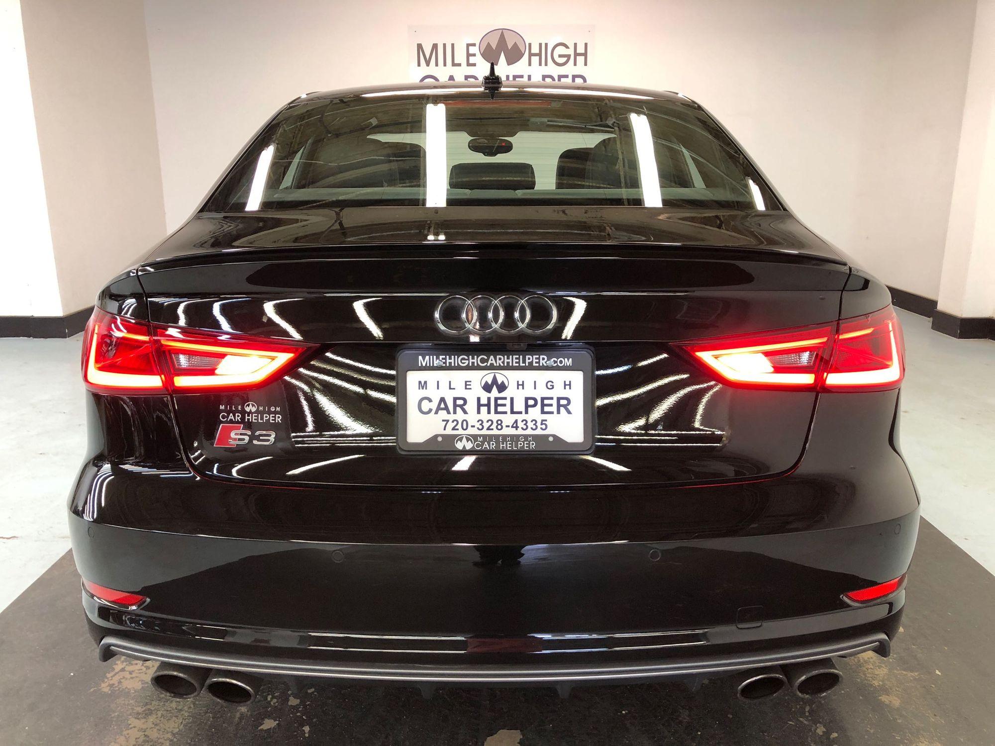 2015 Audi S3 2 0T quattro Premium Plus | Mile High Car Helper