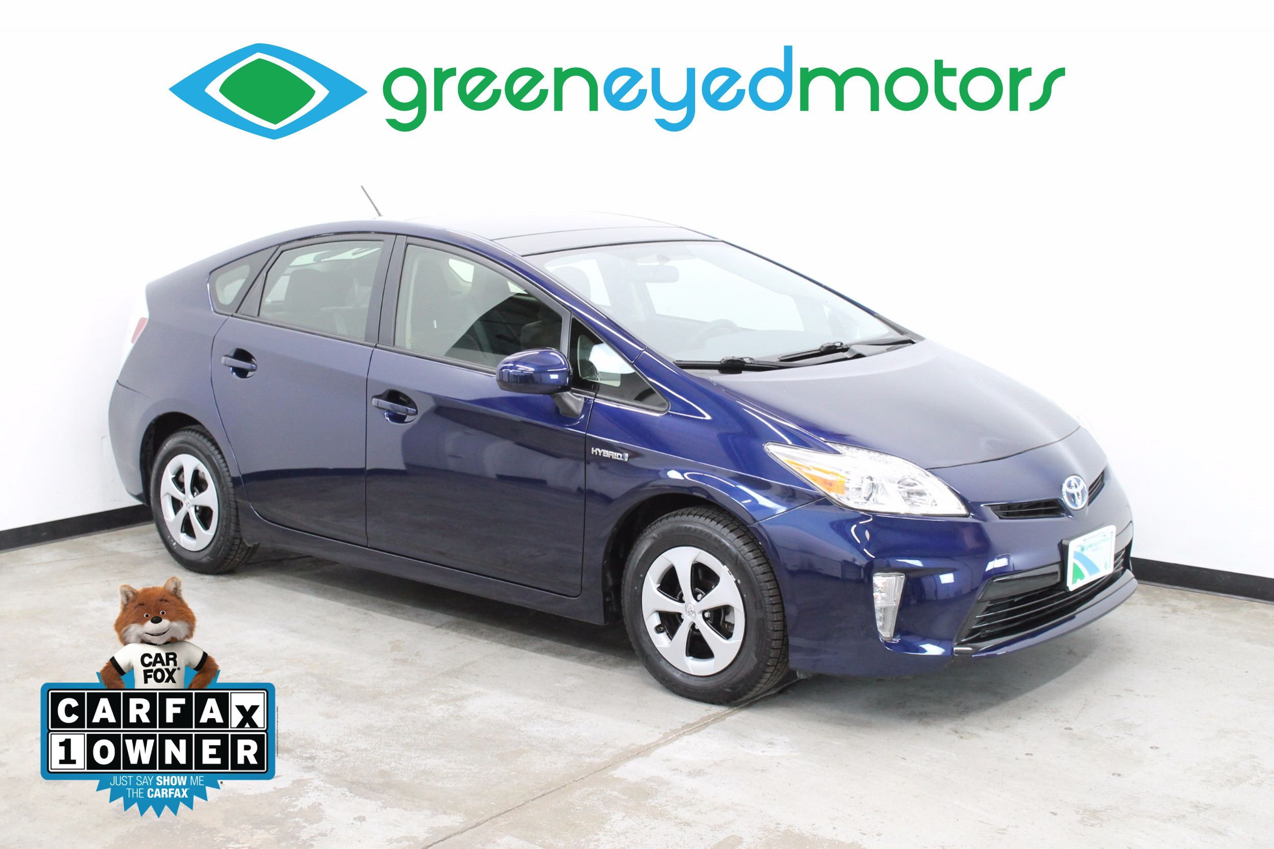 Delightful 2014 Toyota Prius Three. Solar Roof Package   51 MPG!!
