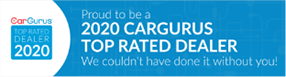 CarGurus Banner for Top Rated Dealer