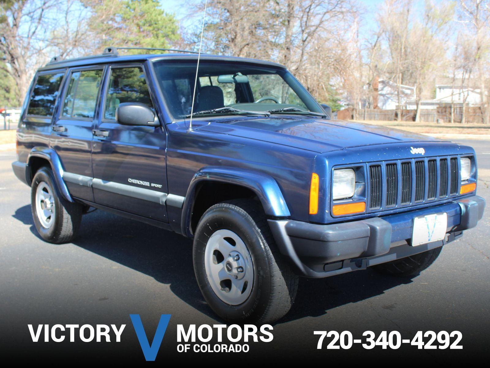 2001 Jeep Cherokee Sport Victory Motors Of Colorado Xj Cargo Dimentions