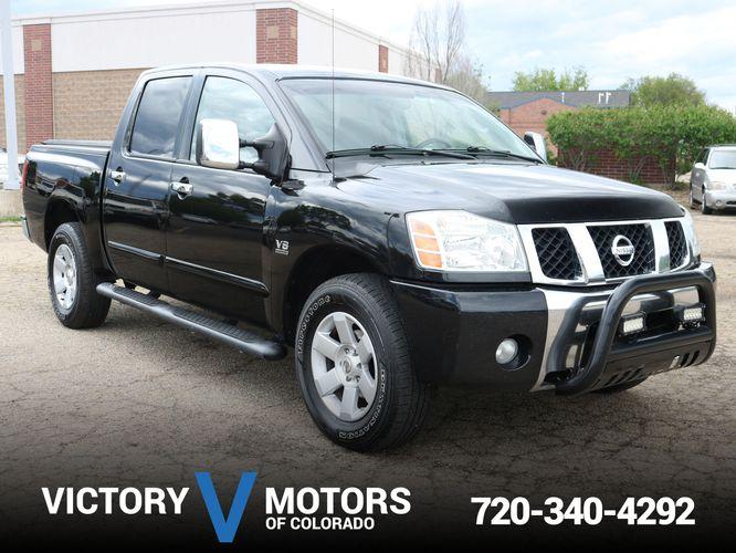 2004 Nissan Titan Le Crew Cab 4wd Victory Motors Of Colorado