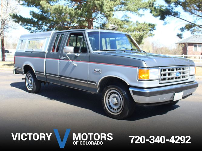 1987 Ford F150 >> 1987 Ford F 150 Xlt Lariat Victory Motors Of Colorado