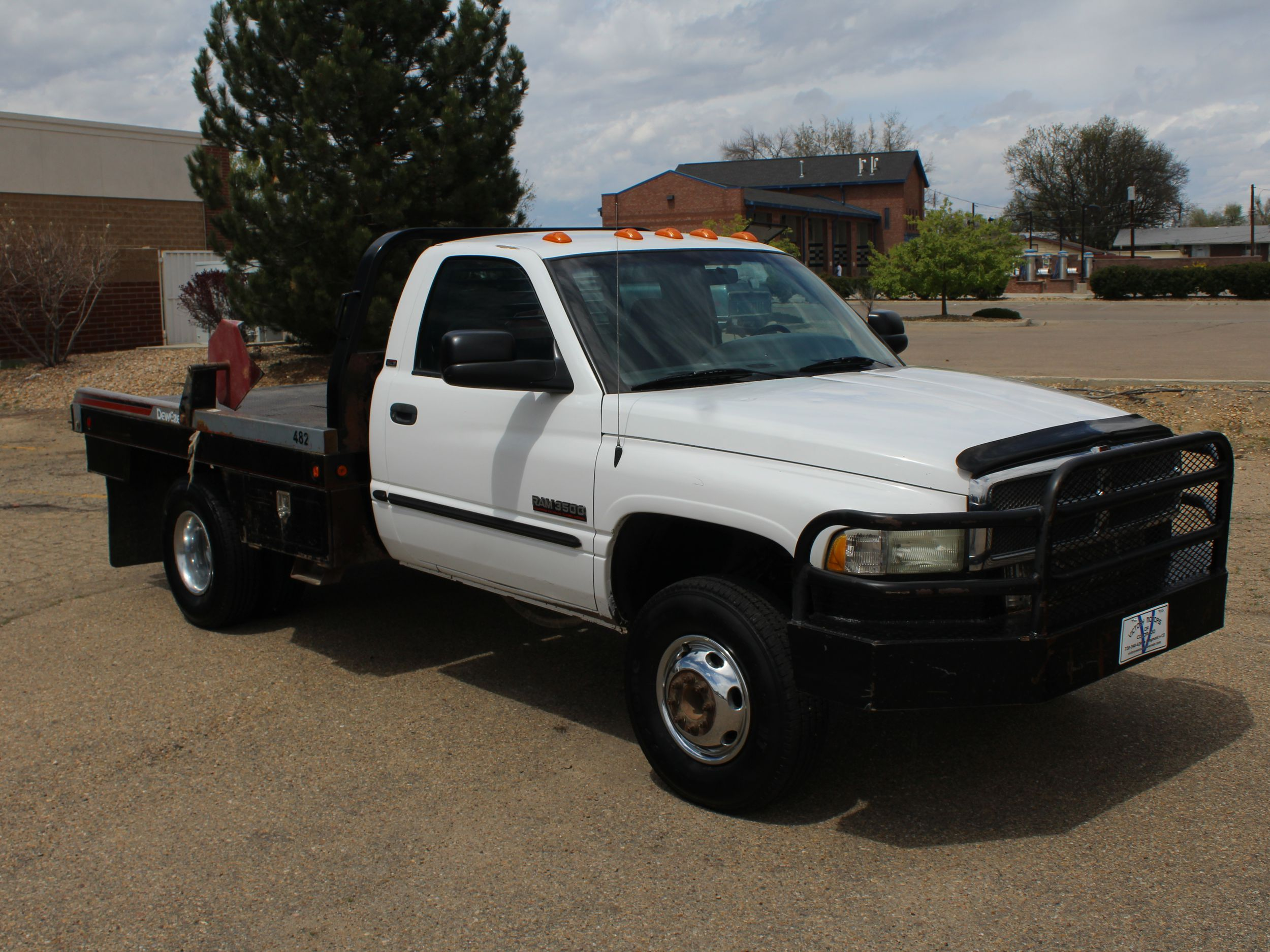 2002 Dodge Ram 3500 Flatbed Victory Motors Of Colorado