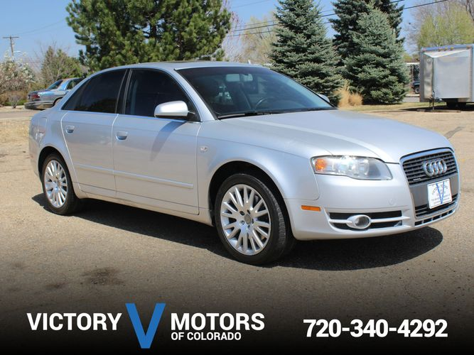 2006 Audi A4 2.0T quattro | Victory Motors of Colorado Audi A B Tinted Windows on audi a4 gray interior, audi a4 panoramic sunroof, audi a4 traction control, audi a4 bug deflector, audi a4 custom paint jobs, audi a4 5 speed transmission, audi a4 lip kit, audi a4 headlight tint, audi a4 with sunroof, audi a4 ac, audi a4 headlight washer, audi a4 red calipers, audi a4 smoked tail lights, audi a4 leather seats, audi a4 1.8 engine, audi a4 bose sound system, audi a4 dual exhaust, audi a4 steel wheels, audi a4 premium wheels, audi a4 6 speed,